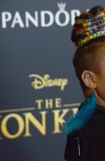 Raven Symone Arrives for the Premiere Of Disney