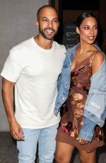Rochelle Humes Attending the ITV Summer Party 2019 at Nobu Shoreditch in London