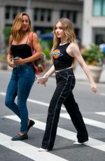 Sabrina Carpenter Out in New York City