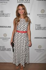 Samia Longchambon At The Library curated by Assouline Launch at Raddison Edwardian Hotel Manchester