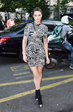 Shailene Woodley Outside Vogue Paris Foundation Gala at Haute Couture Fashion Week in France