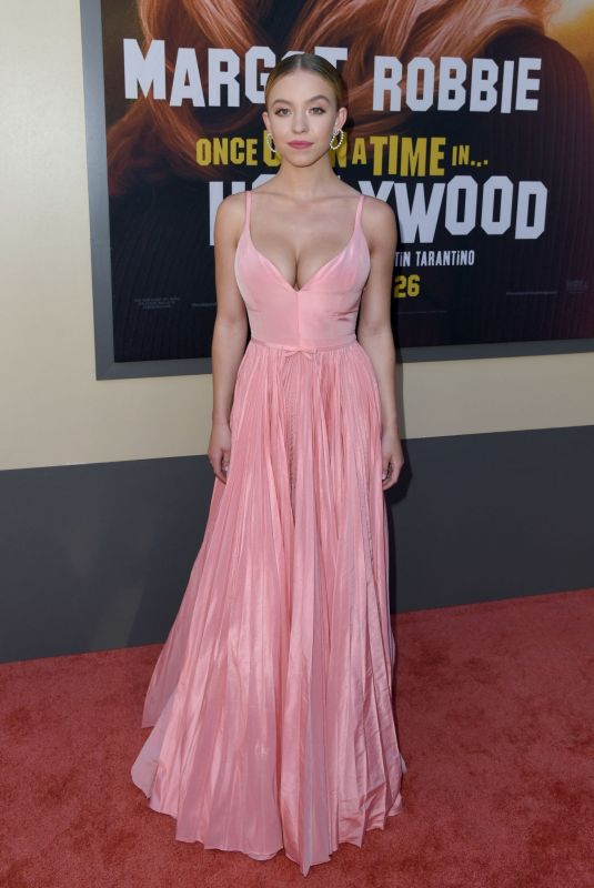 Sydney Sweeney At Once Upon A Time in... Hollywood Premiere in LA