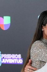 Tini Stoessel At the Premios Juventud in Miami