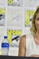 Tricia Helfer At Creepshow Panel at Comic Con 2019 in San Diego