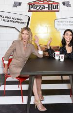 Tricia Helfer At Pizza Hut Lounge at 2019 Comic-Con International: San Diego