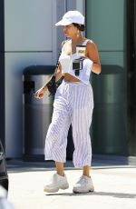 Vanessa Hudgens At a gas station in Los Angeles