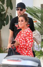 Vicky Pattison Leaves Ibiza, Spain