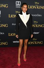 Yara Shahidi At Premiere of Disney