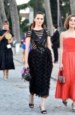 Zoey Deutch At Fendi Couture Fall Winter 2019/2020 Dinner in Rome