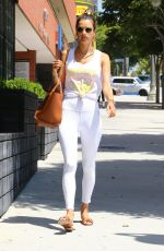 Alessandra Ambrosio Leaving a pilates studio in LA