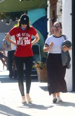 Alexandra Daddario Out in LA