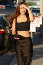 Alexis Ren At Revolve Make-Up in West Hollywood