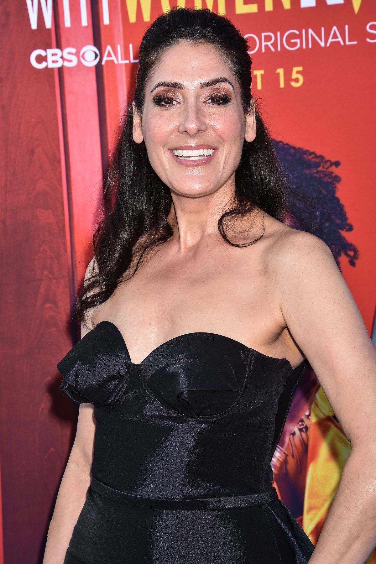 Alicia Coppola Arrives at the Los Angeles Premiere Of CBS