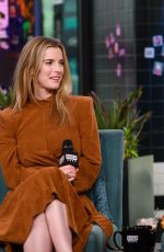 Alison Brie & Betty Gilpin At AOL Build Series for GLOW in NY