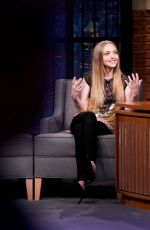Amanda Seyfried At Late Night with Seth Meyers in NY
