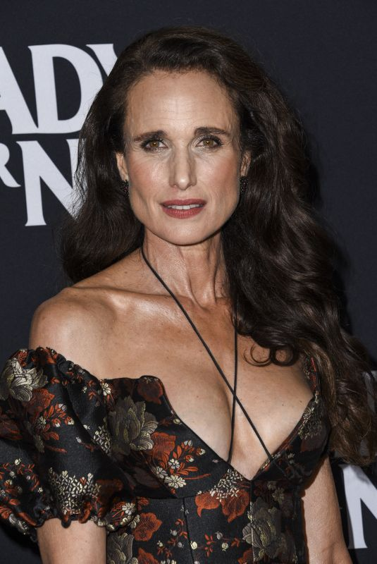 Andie MacDowell attends the Los Angeles Screening of Fox Searchlight