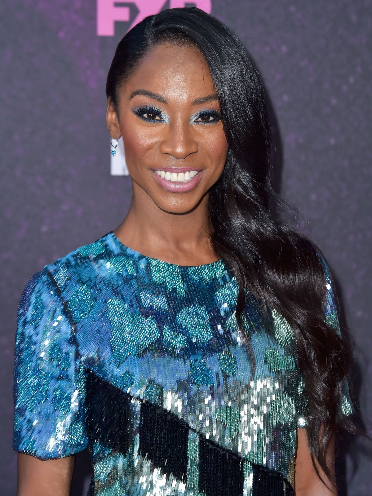 Angelica Ross Arrives At The Red Carpet Event For Fx S