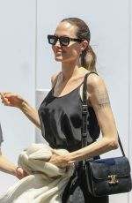 Angelina Jolie At Fred Segal store in West Hollywood