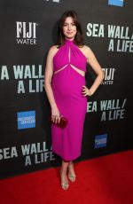 Anne Hathaway At FIJI Water At Sea Wall/A Life Opening Night in NYC