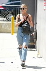 Ashlee Simpson Out in Studio City