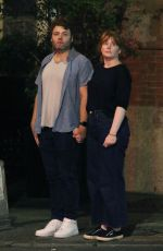 Bryce Dallas Howard On romantic date night in New York