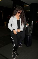 Camila Cabello At LAX Airport in Los Angeles