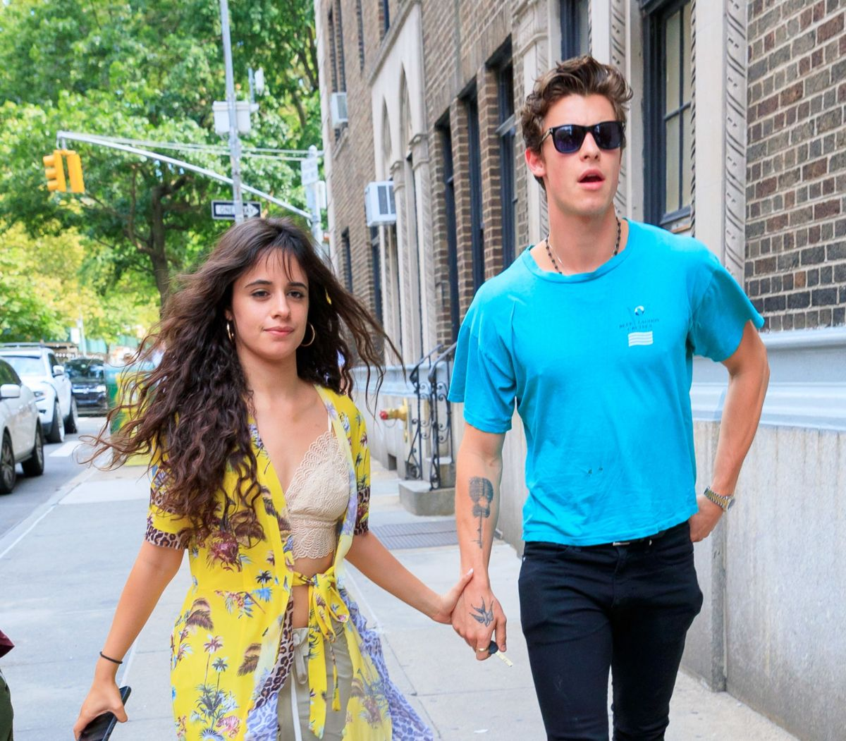 Manhattan New: Camila Cabello & Shawn Mendes Seen Out And About In