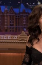 Carla Gugino At Tonight Show Starring Jimmy Fallon in New York