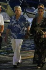 Catherine Zeta Jones Out in Italy