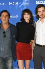Charlotte Gainsbourg At 1 st Day Angoulême Film Festival France