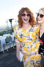 Christina Hendricks At InStyle