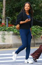 Christina Milian Out in New York City