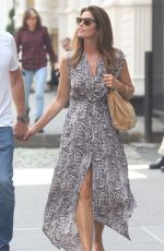 Cindy Crawford Out in NYC