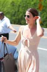 Cobie Smulders Leaving the Day of Indulgence party in Brentwood