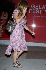 Connie Britton Leaves dinner at Gracias Madres restaurant in West Hollywood