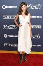 Diana Silvers Arrives at Variety