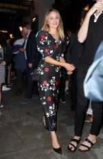 Dianna Agron At Broadway Theatre in New York