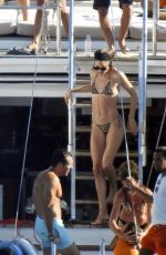 Doutzen Kroes At Bikini party aboard a luxury vessel in Ibiza