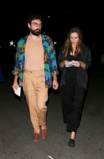 Elizabeth Olsen At the Rolling Stones Concert in Pasadena