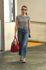 Emma Roberts Leaving dermatologist in Beverly Hils - August 21, 2019