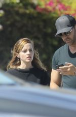 Emma Watson At Cedars-Sinai Urgent Care in Culver City