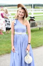 Georgia Toffolo At Celebrity Horserace at Glorious Goodwood in Chichester
