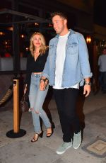 Gregg Sulkin and actress Michelle Randolph couple up in West Hollywood along with Cassie Randolph