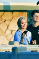 Gregg Sulkin Spotted out on a romantic