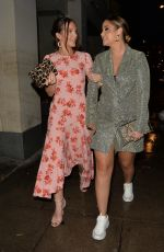 Helen Flanagan and Jacqueline Jossa looking stylish at Park Chinois in London