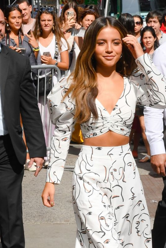 Isabela Moner At Good Morning America in NYC
