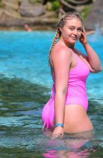 Iskra Lawrence In a swimsuit at Mountain Creek Waterpark in NJ