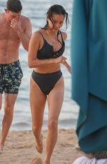 Jamie Chung On the beach in Hawaii
