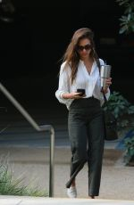 Jessica Alba Heads to the office in Los Angeles