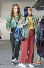 Jessica Alba Shopping in Century City